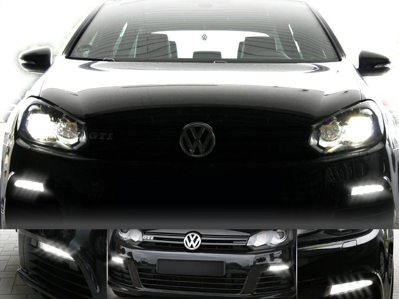 Adapter LED Daytime Running Lights For VW Golf 6