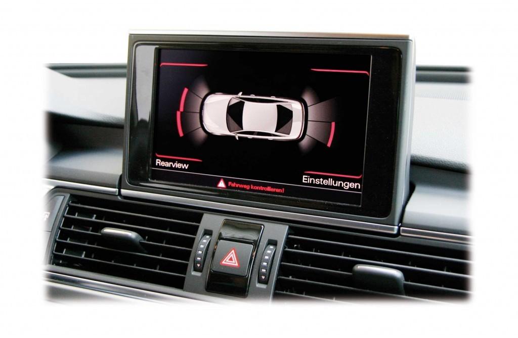 audi parking system plus front rear retrofit for audi a7 4g. Black Bedroom Furniture Sets. Home Design Ideas