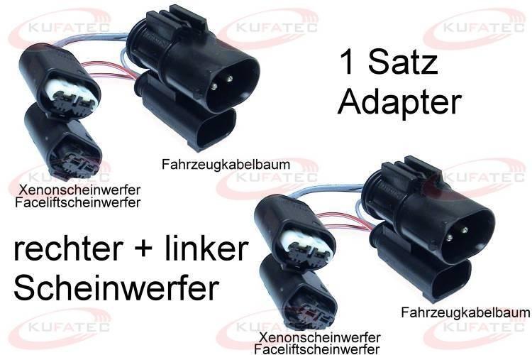 Facelift Headlights Adapter Bmw 5er E39 34550