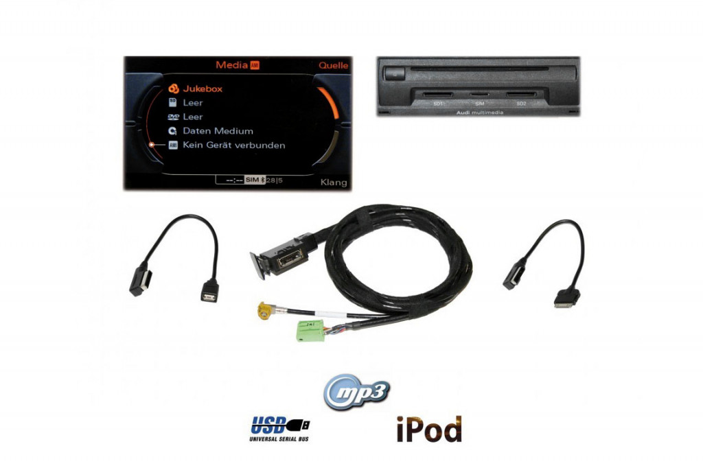 AMI Audi Music Interface Retrofit - Audi ami cable