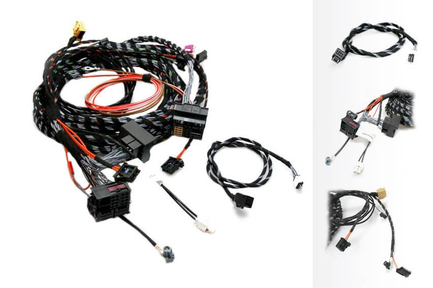 upgrade radio system to mmi high 3g harness for audi. Black Bedroom Furniture Sets. Home Design Ideas