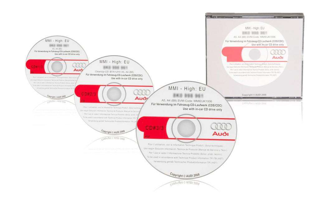 Original Mmi Update For Audi A4 A5 To 5570