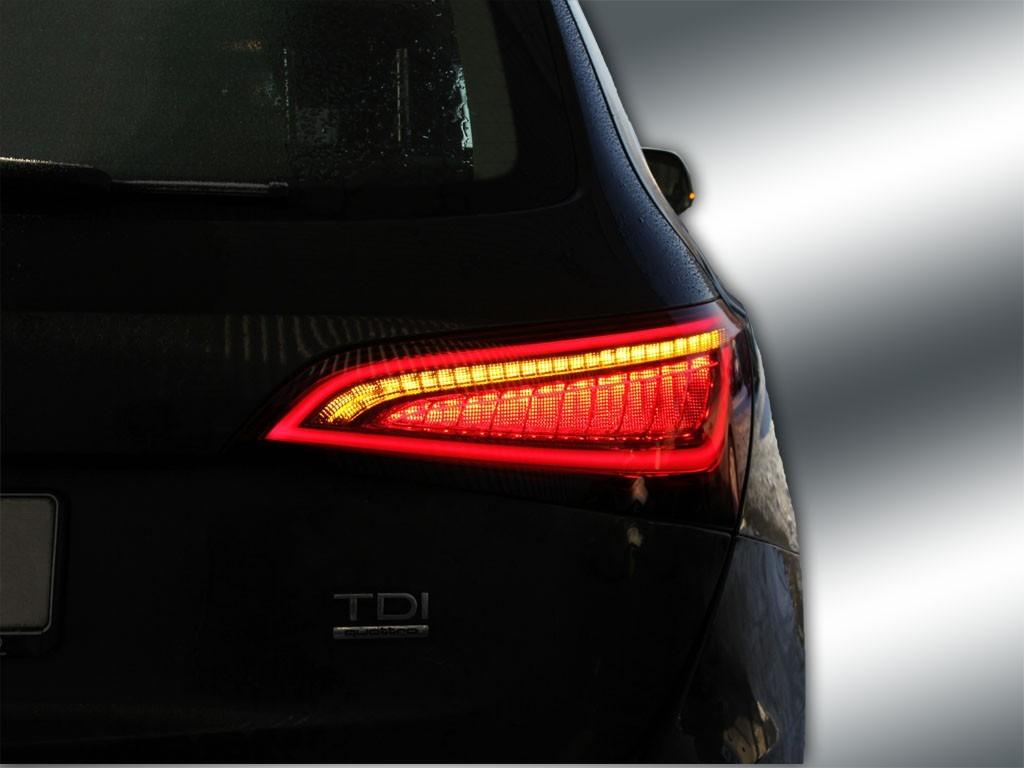 Complete Set Facelift LED Rear Lights For Audi Q5 Images