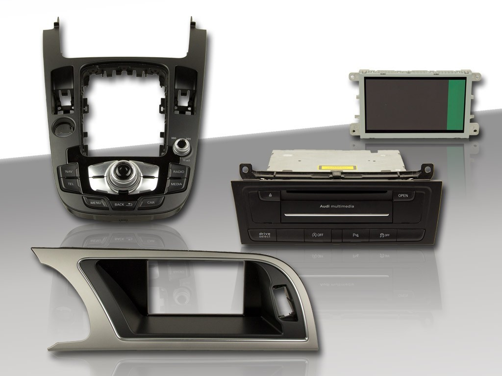 Retrofit Kit Mmi3g Navigation Plus For Audi A5 8t