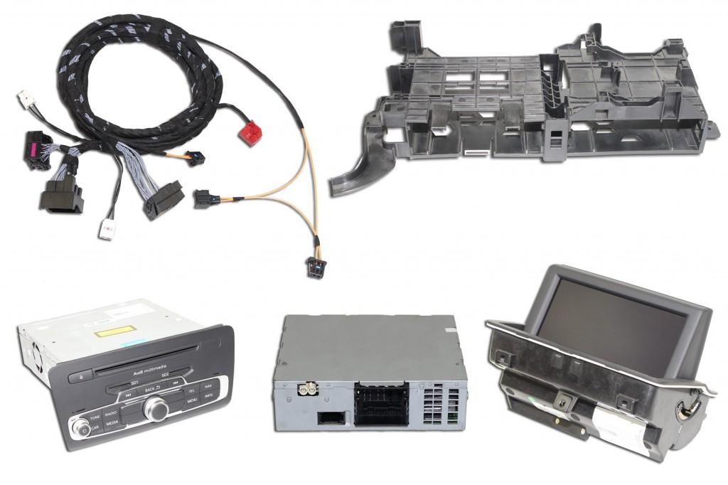 Retrofit Kit 3g Mmi Navigation Plus Audi A1 8x