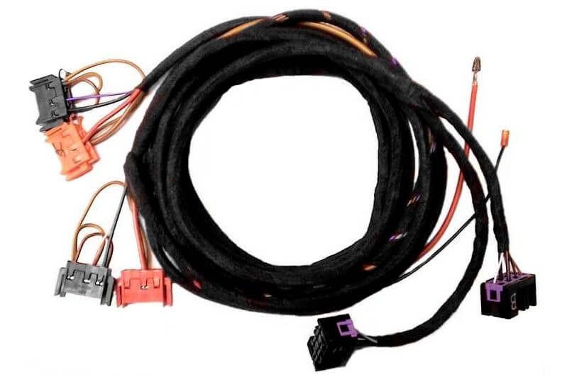 Seat Heating With Seat Adjustment Harness For Audi A6 C4