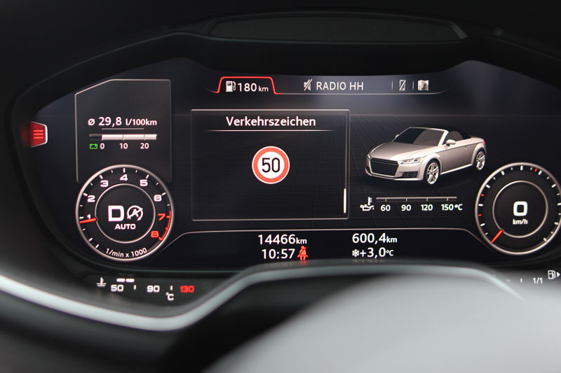Diagnostic interface traffic sign recognition for VW, Audi ...