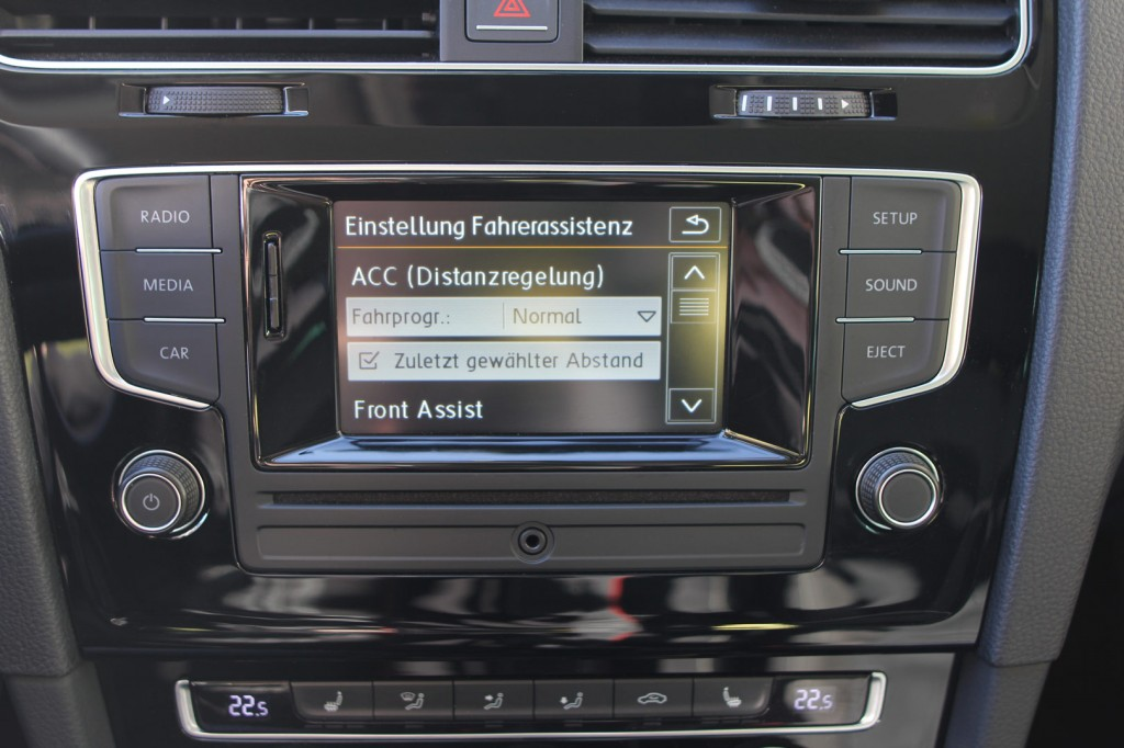 Adaptive Cruise Control Acc For Vw Golf 7
