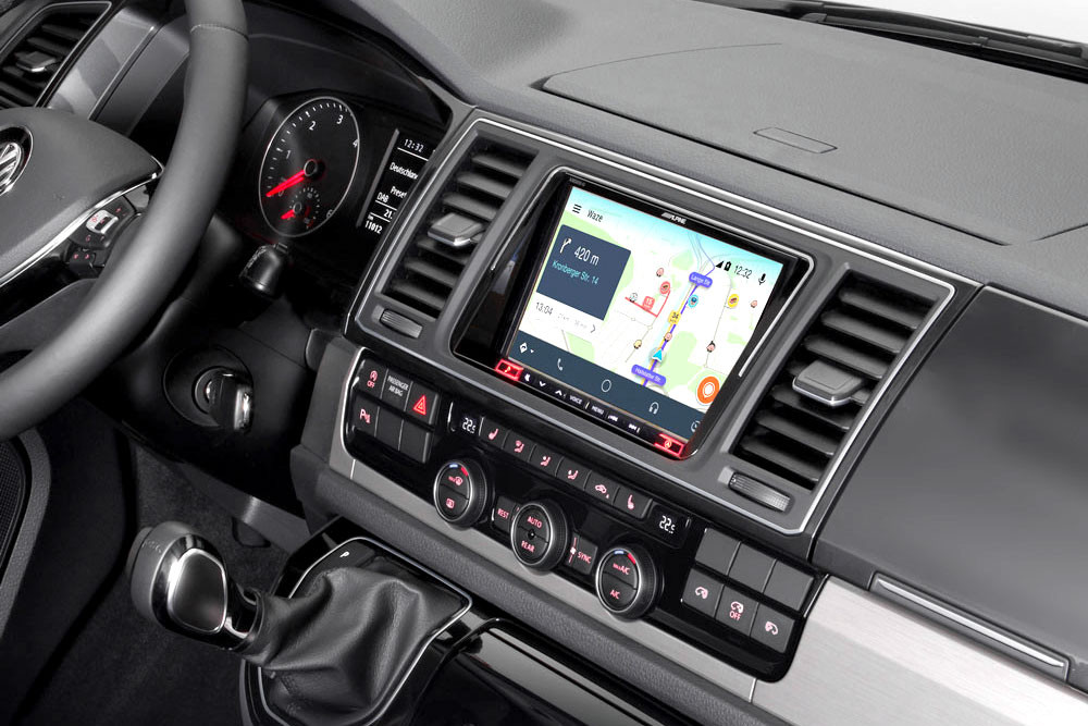 navigation system premium infotainment vw t5 t6. Black Bedroom Furniture Sets. Home Design Ideas