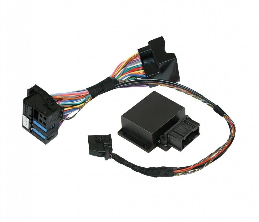 Kufatec Vw Adapter Radio Navigationunit Mfd2 Rns2: Video In Motion For VW MFD2, RNS510 / Skoda / Seat / Bentley