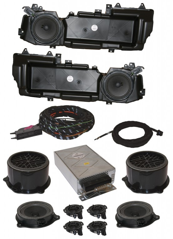 DSP Soundsystem complete with MMI Basic for Audi A6 4F35508