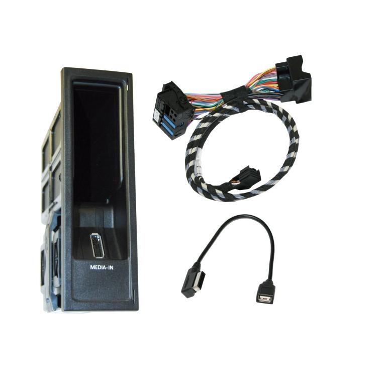 Kufatec Vw Adapter Radio Navigationunit Mfd2 Rns2: SEAT MEDIA-IN/MDI Interface