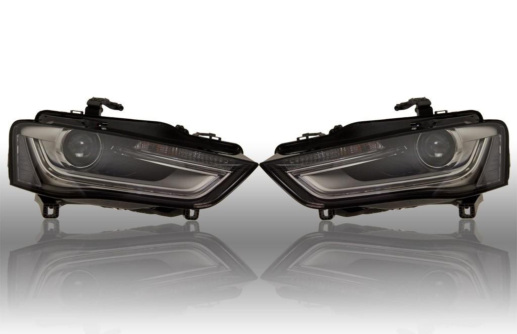 bi xenon scheinwerfer led tfl audi a4 8k facelift 39882 m. Black Bedroom Furniture Sets. Home Design Ideas