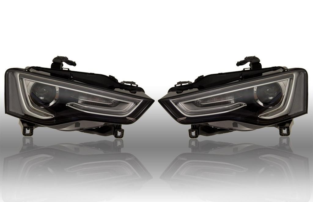 bi xenon headlights led dtrl audi a5 8t 39883. Black Bedroom Furniture Sets. Home Design Ideas