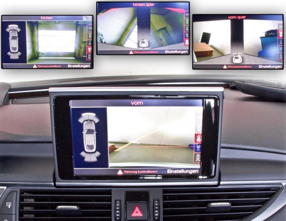 Front- und Rückfahrkamera Nachrüstung für Audi A7 4G