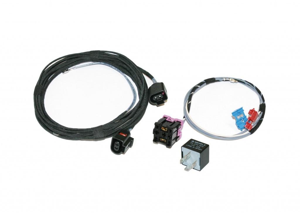 Kabelsatz Nebelscheinwerfer Nachrüstung für Audi A3 8L + Relais