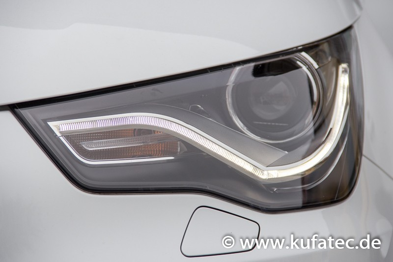bi xenon headlights led dtrl for audi a1 8x. Black Bedroom Furniture Sets. Home Design Ideas