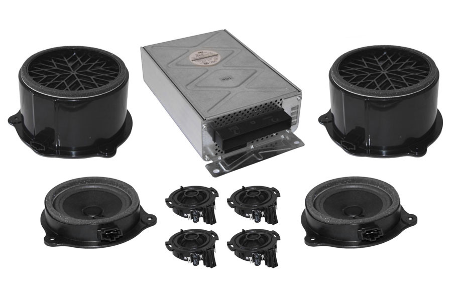 dsp sound system complete with mmi basic for audi a6 4f. Black Bedroom Furniture Sets. Home Design Ideas