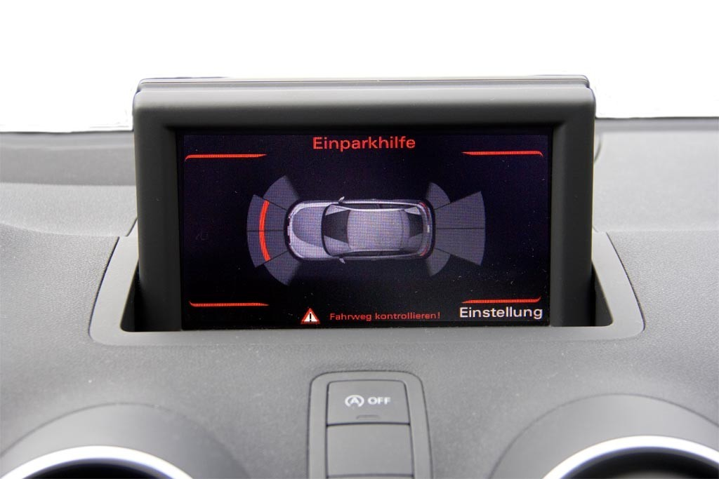 audi parking system plus - front + rear retrofit for audi a1 8x