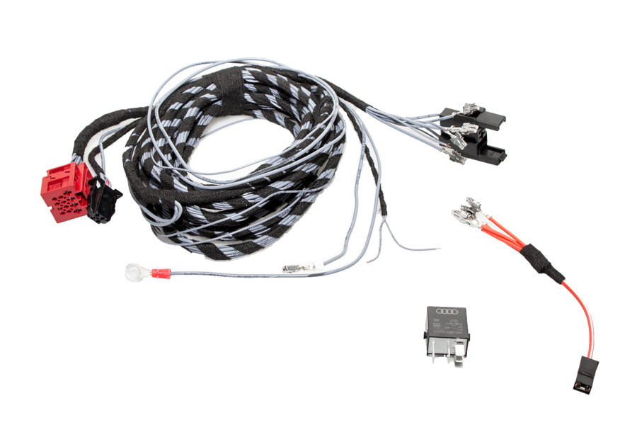 Vw Trailer Wiring Harness : Cable set swiveling trailer hitch central electrics for