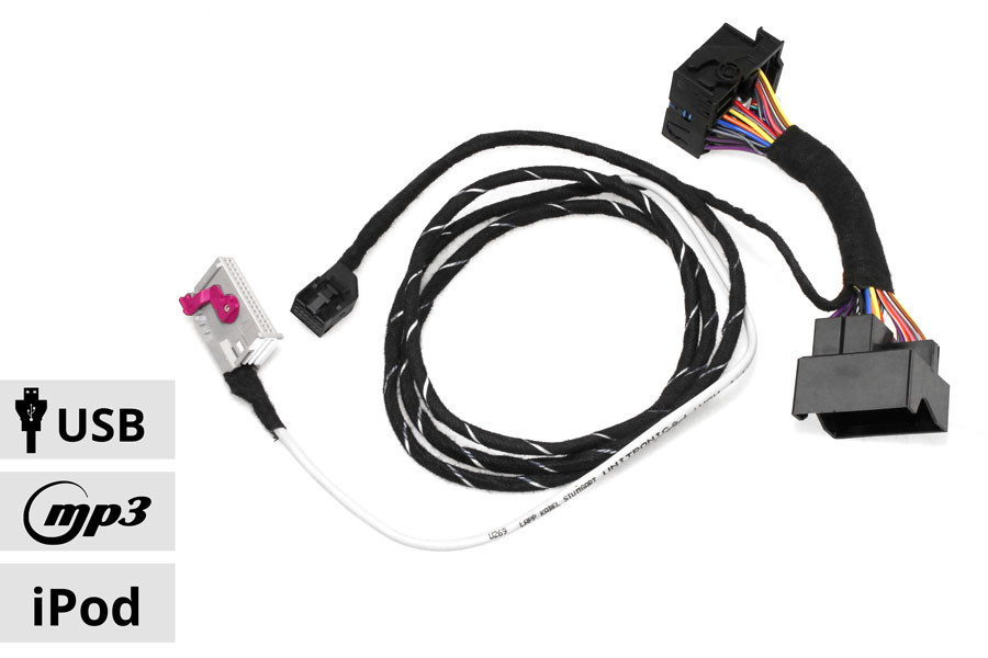 Music Interface Ami Rns E Harness For Audi Tt 8j A3 8p