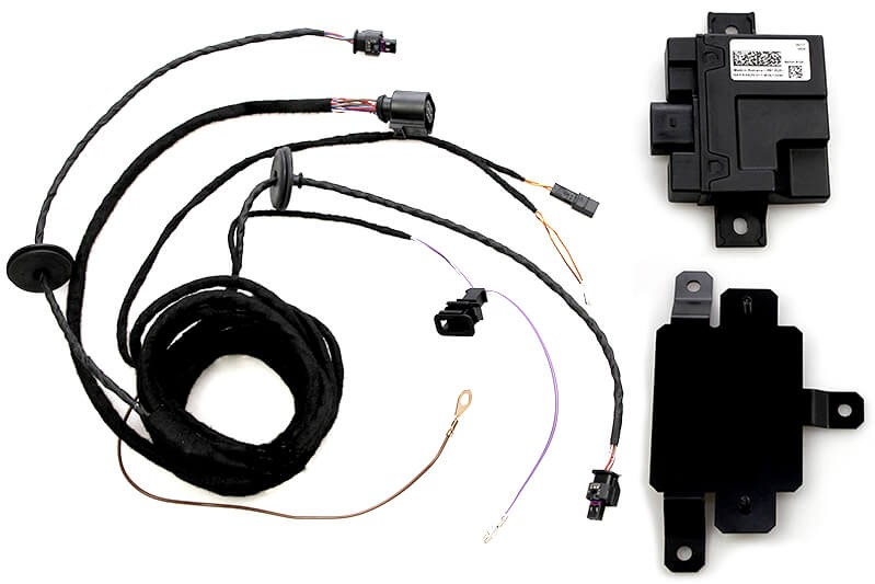 complete kit active sound booster for audi a4 8k a5 8t 41190. Black Bedroom Furniture Sets. Home Design Ideas