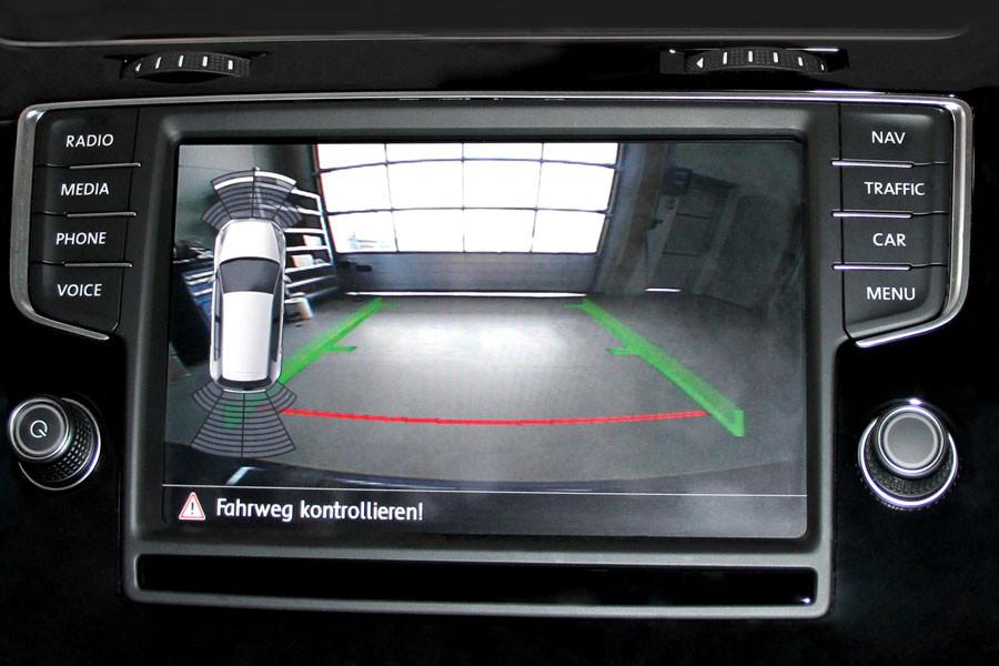 Komplett Set Rueckfahrkamera Fuer Vw Golf Vii Display on Vw Bus Wiring Diagram