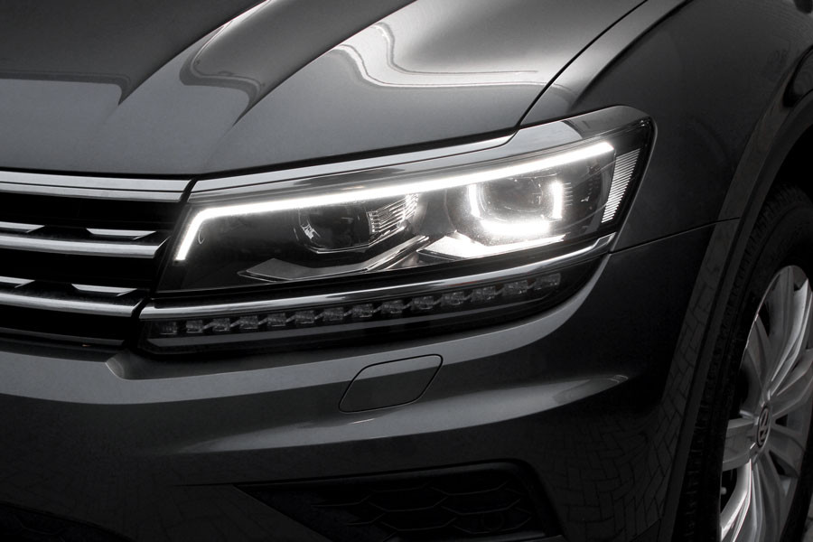 Led Headlights With Daytime Running Lights For Vw Tiguan Ad1