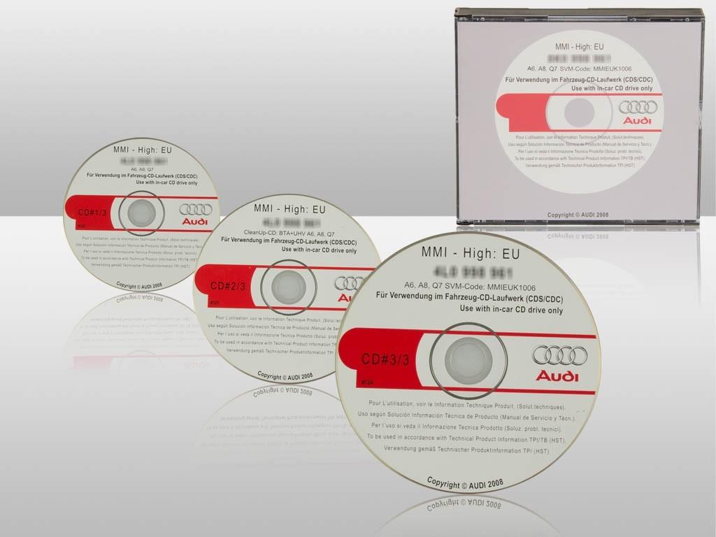 original mmi update for audi a6 4f a8 4e q7 4l to 5570. Black Bedroom Furniture Sets. Home Design Ideas