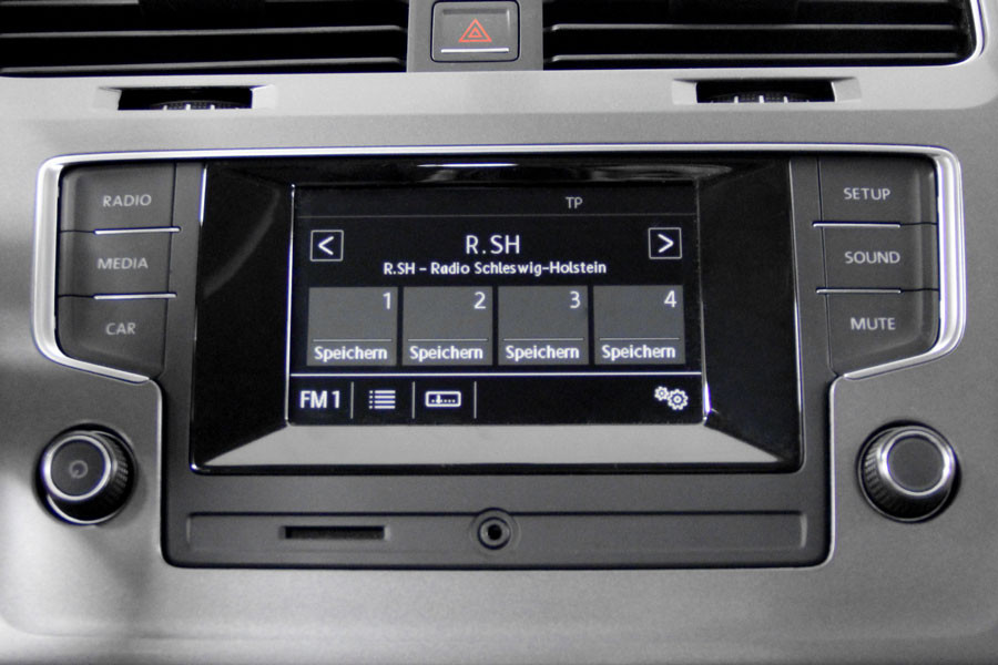 radio composition touch per vw golf 7. Black Bedroom Furniture Sets. Home Design Ideas