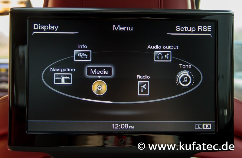 Rear Seat Entertainment System Wiring For Audi A8 4h