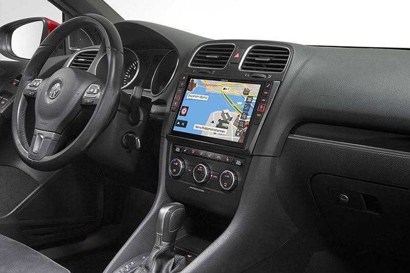 navigationssystem infotainment f r vw golf 6 nachr sten. Black Bedroom Furniture Sets. Home Design Ideas