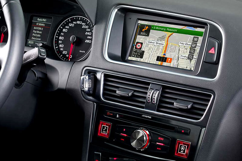 Zelt Für Audi Q5 : Navigationssystem premium infotainment für audi q