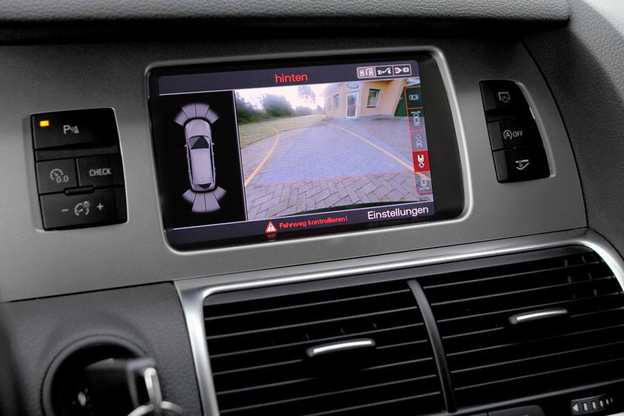 aps advance rear view camera for audi q7 4l mmi 3g. Black Bedroom Furniture Sets. Home Design Ideas