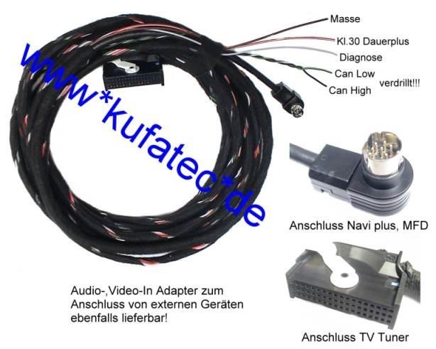 pdf] vw mfd1 service manual (28 pages) - audi pinouts, radio mcd, Wiring diagram