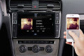 Navigationssystem Premium-Infotainment für Golf 7, piano black