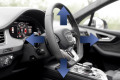 Piantone dello sterzo regolabile elettricamente Audi Q7 4M