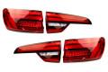Komplett-Set LED-Heckleuchten mit dynamischen Blinklicht für Audi A4 B9 Avant